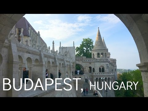 Premed Travel Vlog 013: Exploring BUDAPEST! (ate too much)
