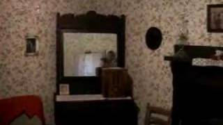 Elvis Presley's birth home in Tupelo, Mississippi with CSI's Gerald McCullough