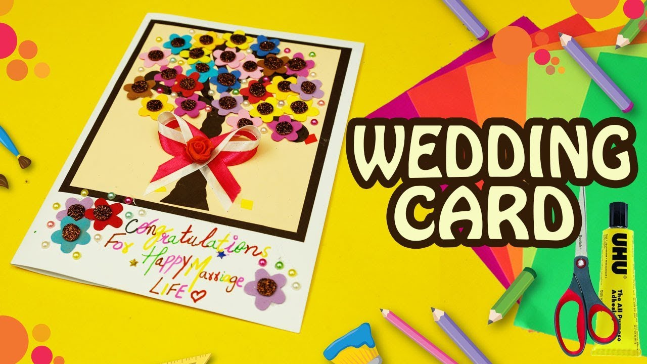 how to make happy wedding greeting cards best wishes quick simple