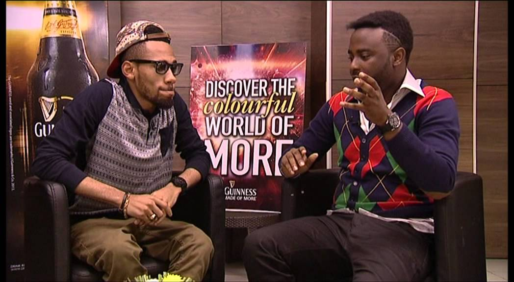VJ Adams' interview with Phyno at #ColourfulWorldOfMore Concert