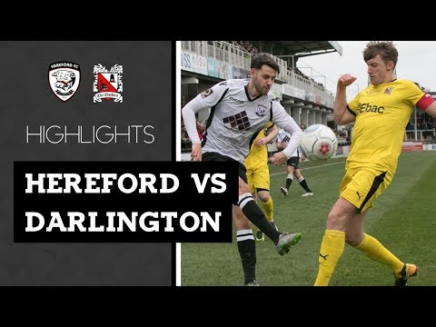 Hereford 4-2 Darlington - Vanarama National League North - 2018/19