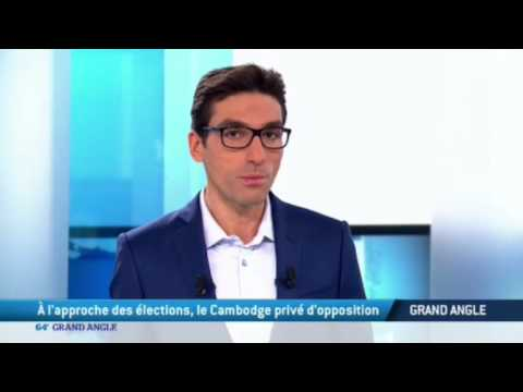 07/02/2017 : M. Sam Rainsy est à la TV5 MONDE