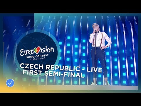 Mikolas Josef - Lie To Me - Czech Republic - LIVE - First Semi-Final - Eurovision 2018