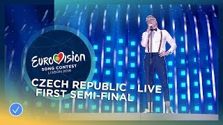 Mikolas Josef - Lie To Me - Czech Republic - LIVE - First Semi-Final -