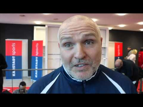 PETER FURY  - 'TYSON FURY CAN MATCH WLADIMIR KLITSCHKO WITH THE JAB ALL NIGHT'