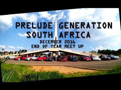 Prelude Generation - Honda Prelude Club of South Africa December 2016 meet up