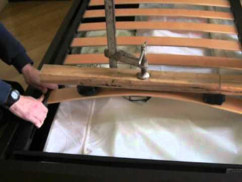 Come sostituire le doghe di un letto youtube - Come costruire un letto contenitore ...
