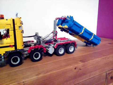lego technic moc camion benne youtube. Black Bedroom Furniture Sets. Home Design Ideas
