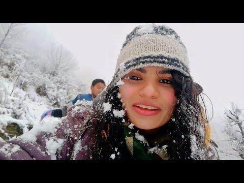 My first ever snowfall in Kullu Manali 2019