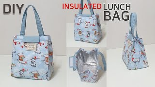DIY Insulated lunch bag/Picnic…