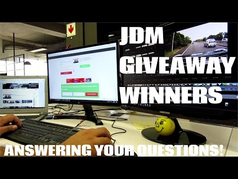 JDM Giveaway Winners and I answer your Questions
