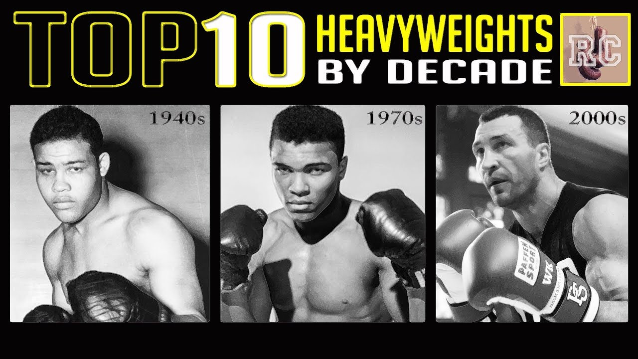 Download Top 10 Heavyweights by Decade