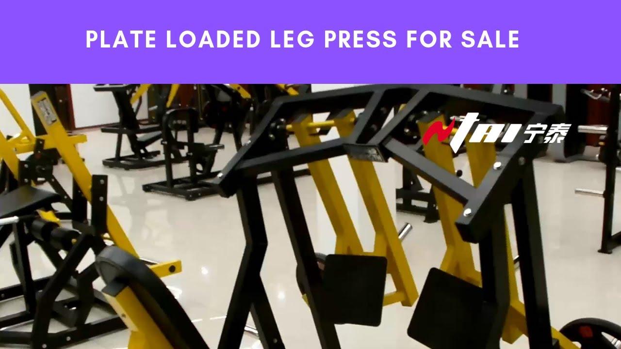 Leg Press for Sale, Buy Hammer Strength Plate Loaded Gym ...