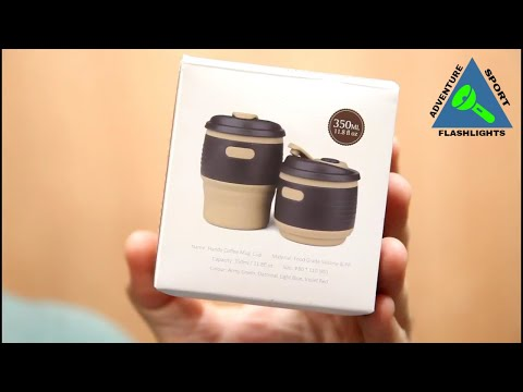The Expandable Collapsible Coffee Mug