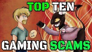 Top Ten Gaming Scams ft. ThatCreepyReading