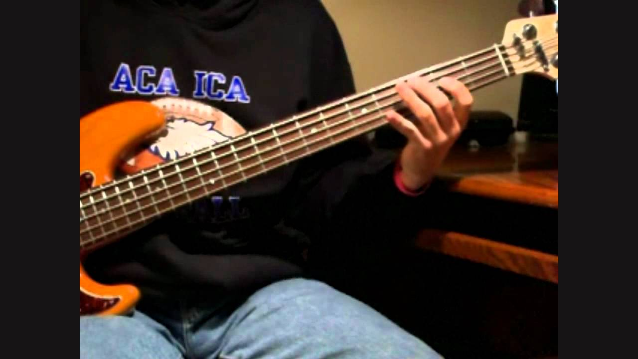 Blues bass lick