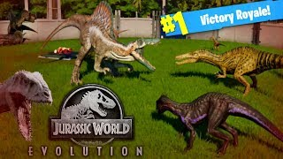 DINOSAUR BATTLE ROYALE! Jurassic World Evolutions (Fallen Kingdom Gameplay)