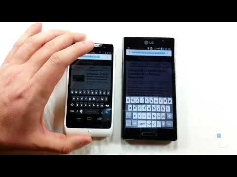 Comparativa: Motorola RAZR D3 vs. LG Optimus L9 (en español)