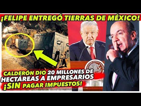 Calderón ENTREGÓ millones de hectáreas a EMPRESARIOS mineros