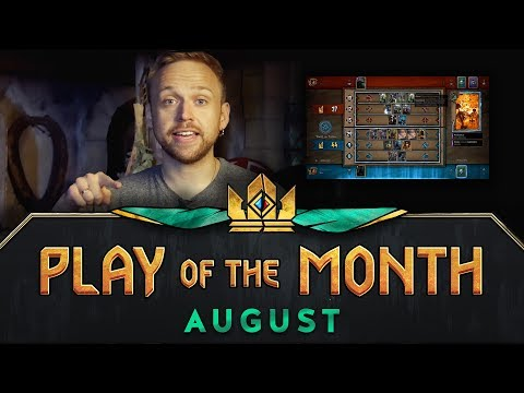 GWENT: THE WITCHER CARD GAME | Play of the Month (August 2017)