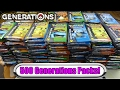 3 000 Pokemon Generations Opening 500 Generation Booster Packs Unboxing Pokemon Tcg mp3
