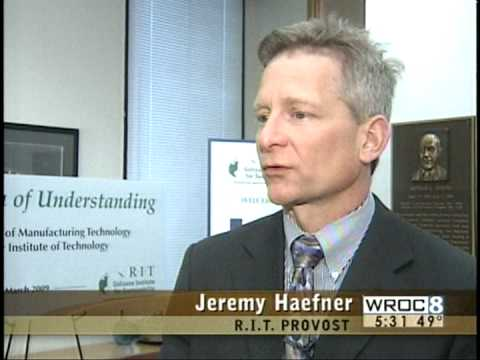 RIT on TV News: Simtech Partnership
