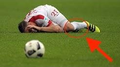 30 Fouls, 5 Verletzungen, 7 Gelbe Karten - Das unfairste Fussballspiel!