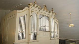 Johann Sebastian Bach: Ich ruf zu dir BWV 639 på orgeln i Trehörningsjö kyrka.