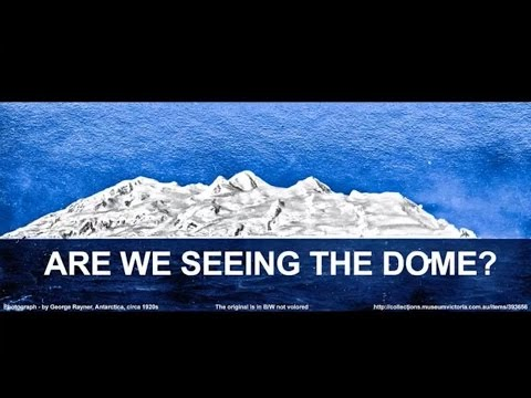 DOME EARTH VISIBLE IN ANTARCTICA - Is this was FE proof or just a... ??