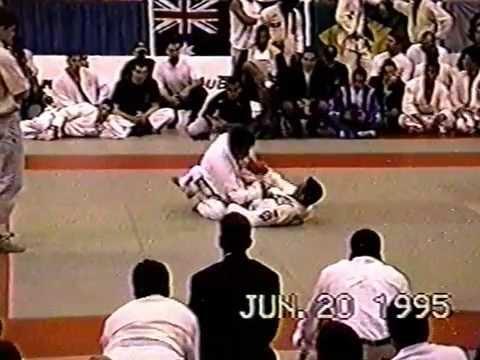 Bob Bass vs Marcio Feitosa 1995 BJJ Pan Am's