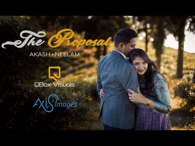 Akash + Neelam - The Proposal | Cinematic Pre-Wedding Film | Nepal + India