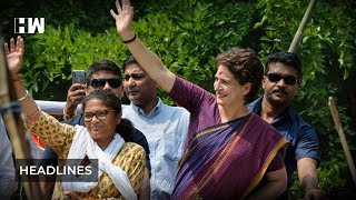 Headlines: National Commission for Protection of Child Rights issues notice to Priyanka Gandhi