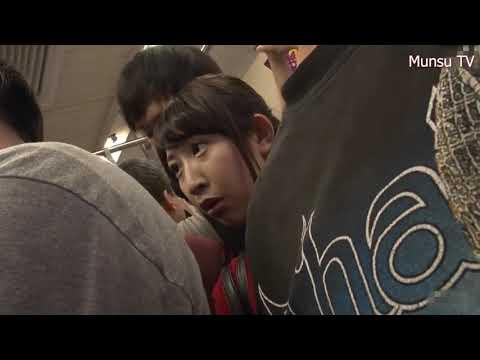 Japan vlog P030 - Japan bus vlog  Red sweater girl on bus