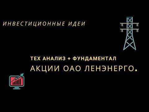 Акции ОАО Ленэнерго Торговые идеи.