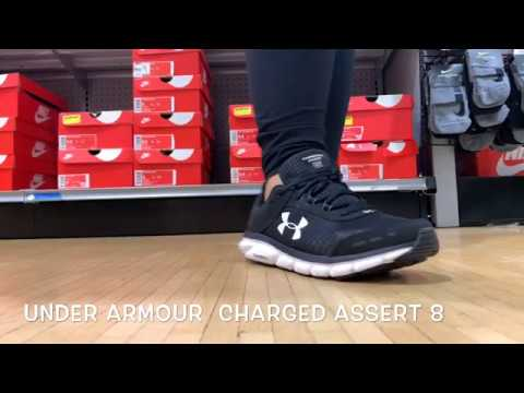 The Under Armour Charged Assert 8 is a