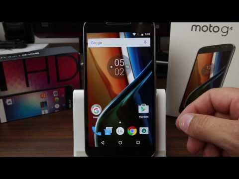 Motorola Moto G 4th gen Unboxing and Overview
