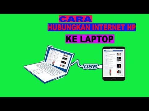 Cara Hubungkan Internet Hp Ke Laptop Lewat USB.