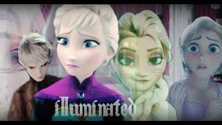 ❅ Jack & Elsa(+Rapunzel) - Illuminated(13+) [AU: Split Personality]
