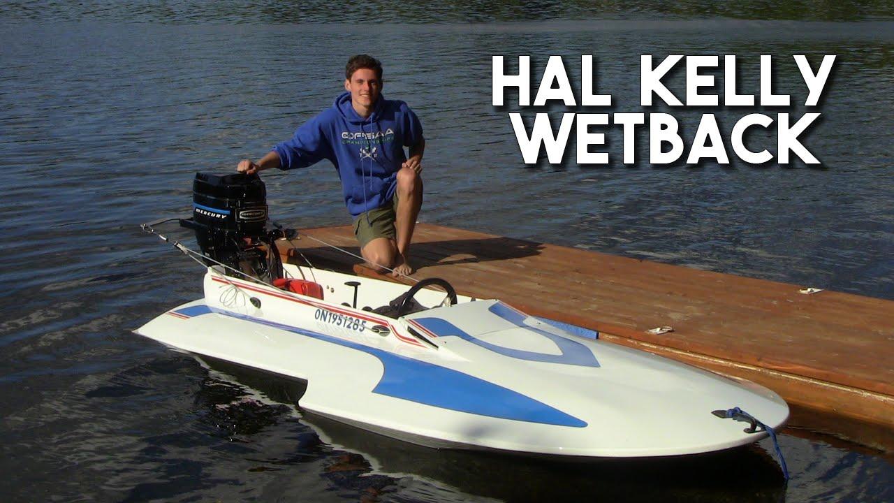My AWARD-WINNING Hal Kelly Wetback Hydroplane - YouTube