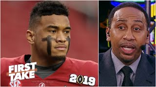 Stephen A. warns Tua Tagovailoa against wanting to play for the Cowboys | First Take
