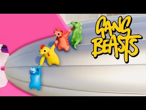 Gang Beasts Online - O MAIS ZUEIRO do JOGO!!! (SKIN NOVA)