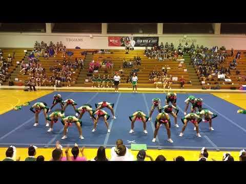Kaimuki Varsity 2017 Pre-Season Cheer Competition