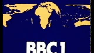 80s and 90s UK TV Idents: BBC1 Globe - Bugs Bunny