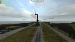 Arma II - Auto Rotation from low altitude hover