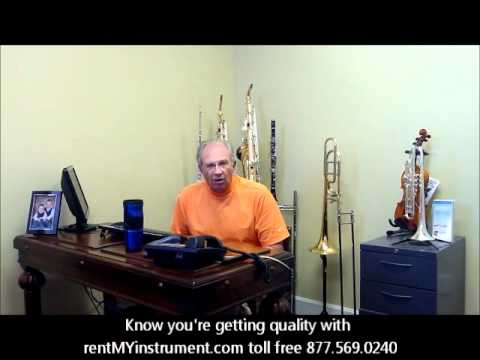 Quality musical instruments with name brands