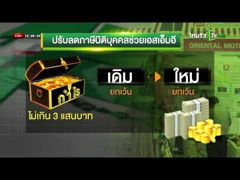 มาตราการช่วยเหลือ SME | 08-09-58 | ชัดข่าวเที่ยง | ThairathTV