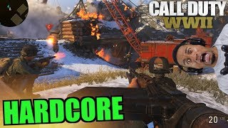 MOST DISGUSTING GAME EVER!! Call of Duty WW2 Multiplayer HARDCORE TEAM DEATHMATCH #11