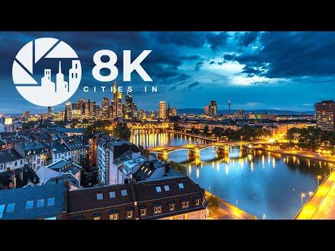 Frankfurt in 8K