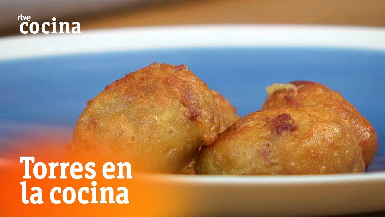 Bu uelos de jam n torres en la cocina rtve cocina for Torres en la cocina youtube