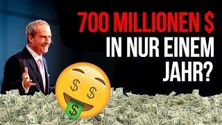 700 MILLIONEN Dollar Umsatz im Jahr!   Das GEHEIMNIS, wie es JEDER schaffen kann viel zu verdienen